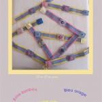 bracelets passementerie pastel