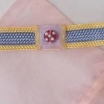 bracelets passementerie pastel détail d