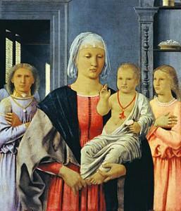 Piero della francesca la Madonna di Senigallia