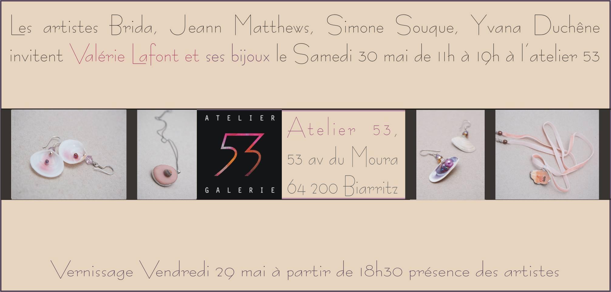 Des bijoux pour Biarritz en mai 2015 !